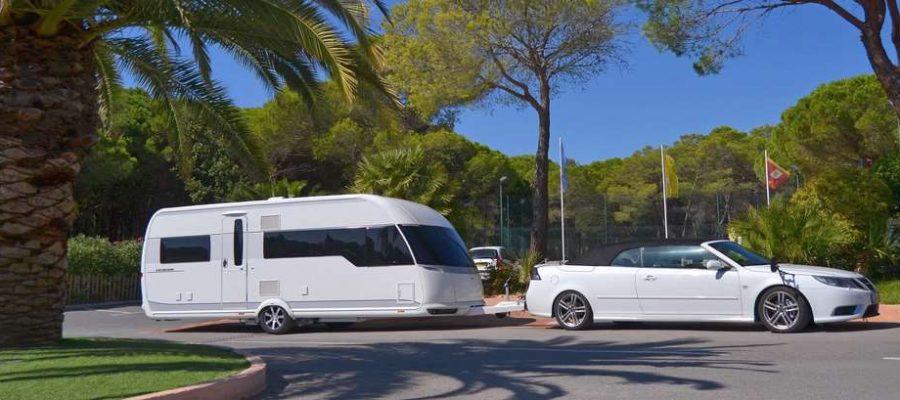 Camping ombragé emplacement nu pour caravane
