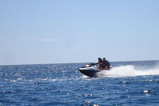 Jetski & Towed Buoy