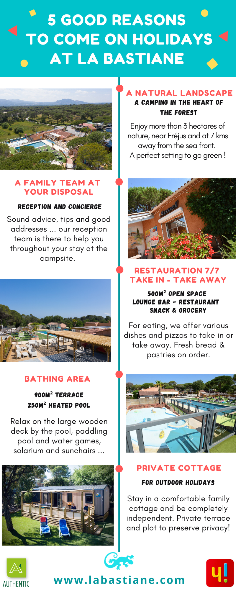 5 good reasons to come at la bastiane